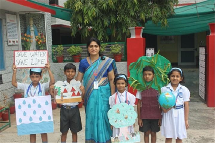 Nirmala Convent School-House Activity