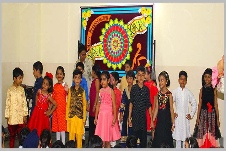 Niscort Fr Agnel School-Rakshabandhan Celebrations