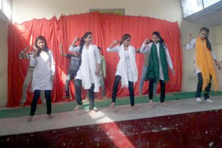 Nishi Memorial Senior Secondary School-Dance competition