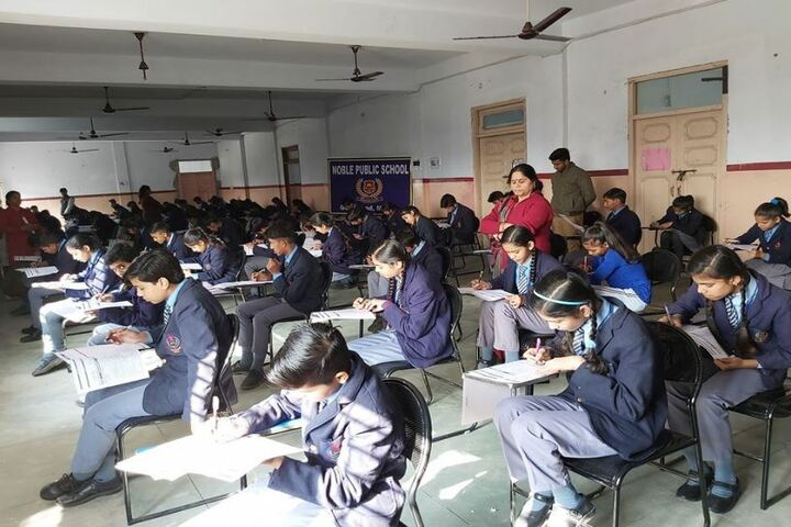 Noble Public School-Exam Hall
