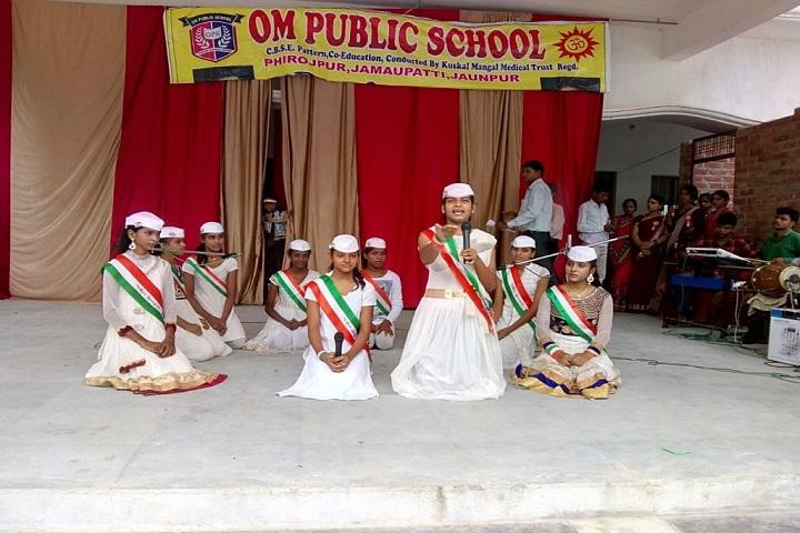 Om Public School-Independence Day Celebration
