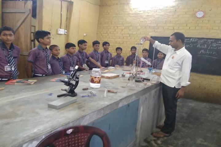 Vidya Niketan-Chemistry Lab