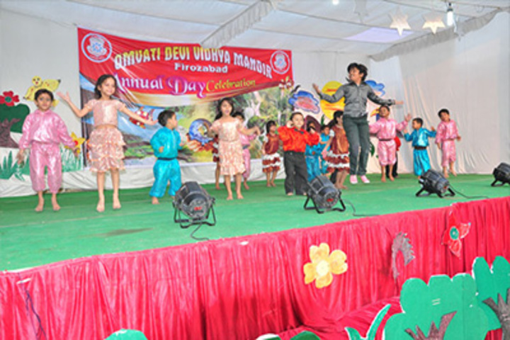 Omvati Devi Vidhya Mandir-Annual Sports Day