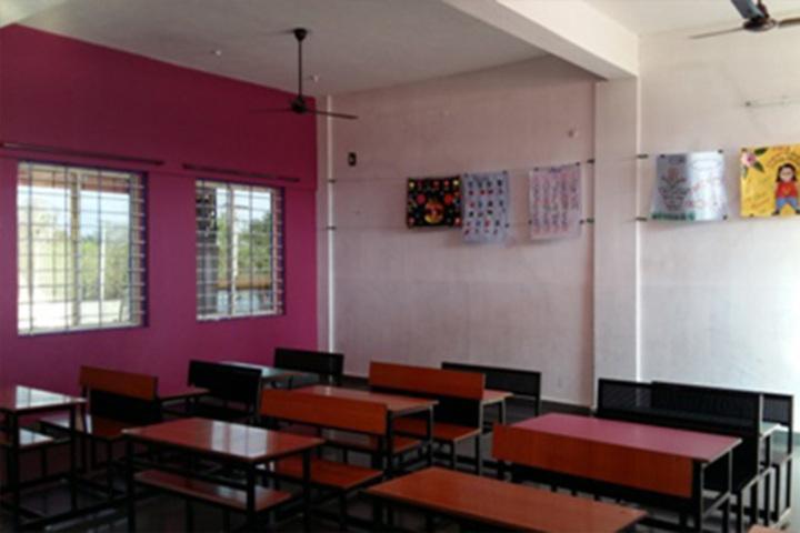 Omvati Devi Vidhya Mandir-Classroom