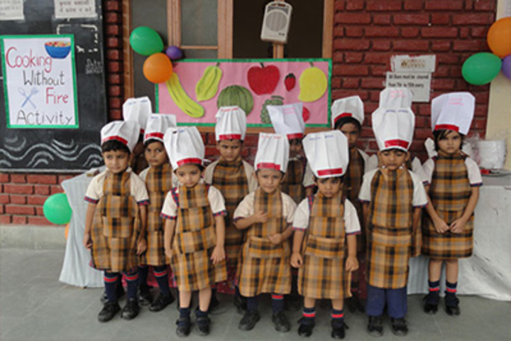 Omvati Devi Vidhya Mandir-Cooking Activity