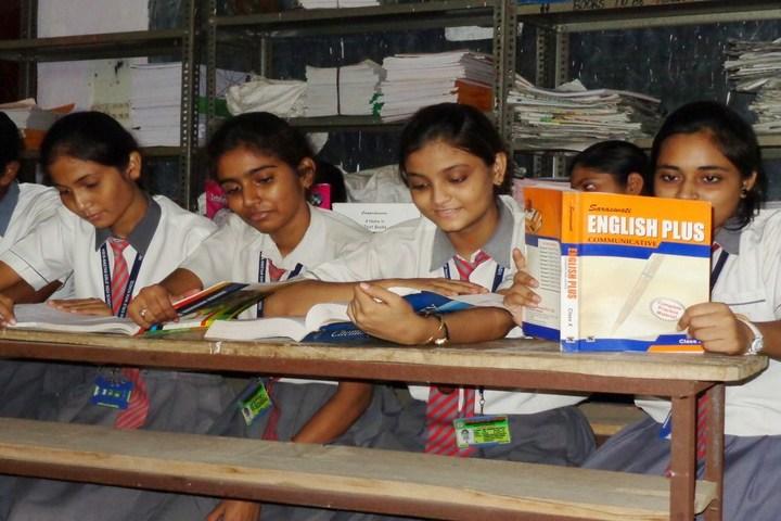 Vidya Niketan Girl High School-Library