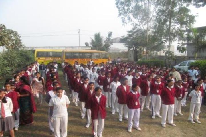 Vidya Niketan Girl High School-Morning Assembly