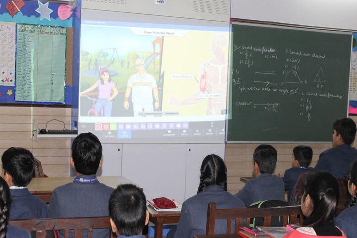 P M S Public School-Digital Classroom