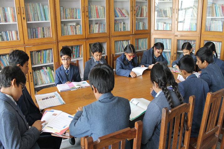 P M S Public School-Library