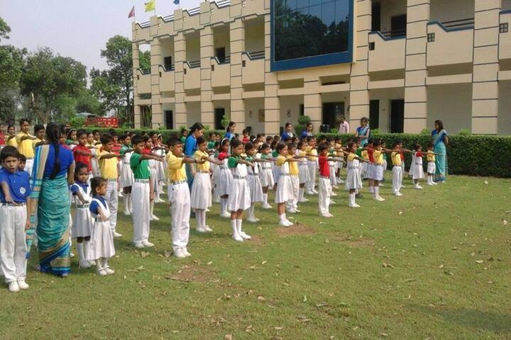P D Public School - Assembly