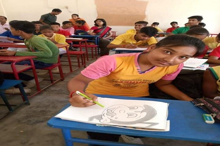 P D Public School - Drawing