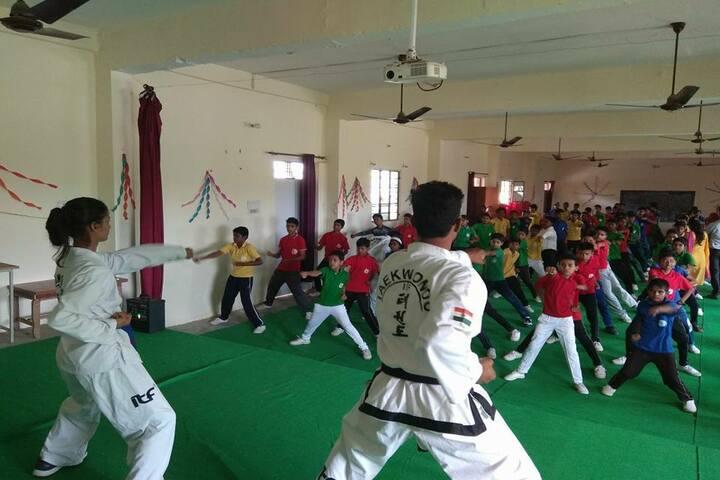P D Public School - Karate