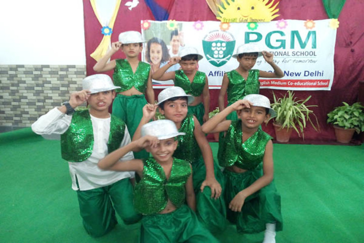P G M International School-Green Day Celebrations