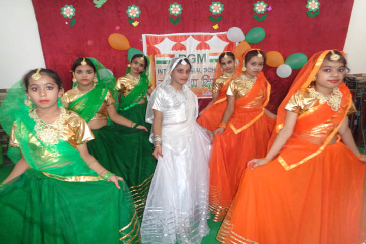 P G M International School-Independence day