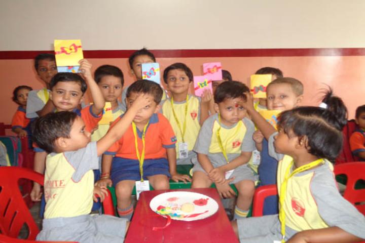 P G M International School-Rakshabandhan Celebrations