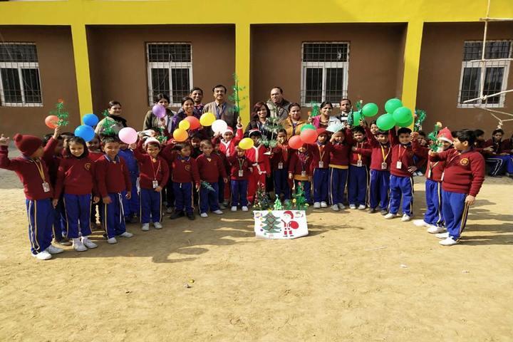 Vidya Sanskar School-Christmas celebrations