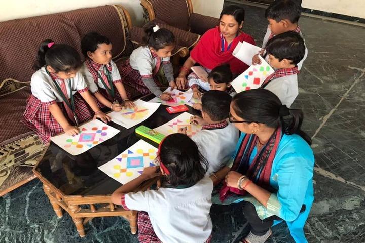 Vidya Sanskar School-Painting Competition