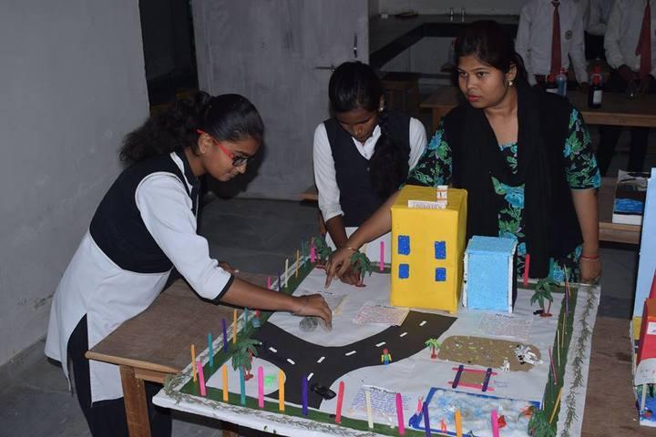 Vidya Sanskar School-Science Exhibition