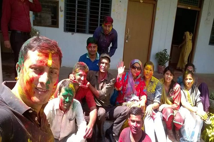 P N National Public School-Holi Celebrations