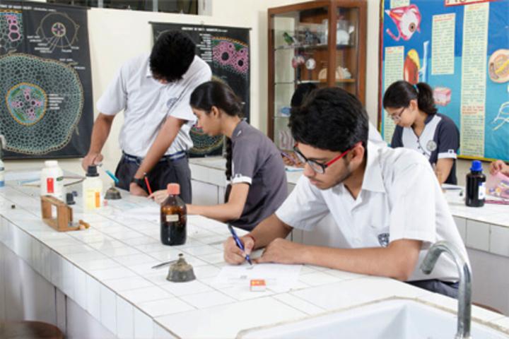P R Public School-Biology Lab