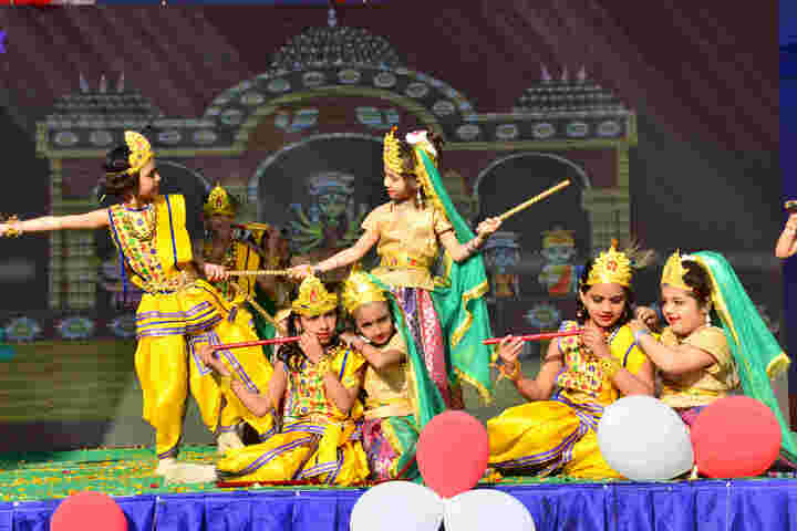 P R Public School-Krishnastami Celebrations