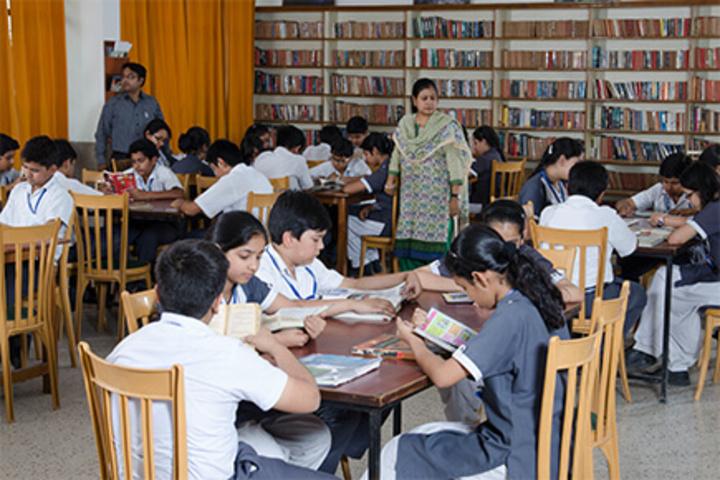 P R Public School-Library