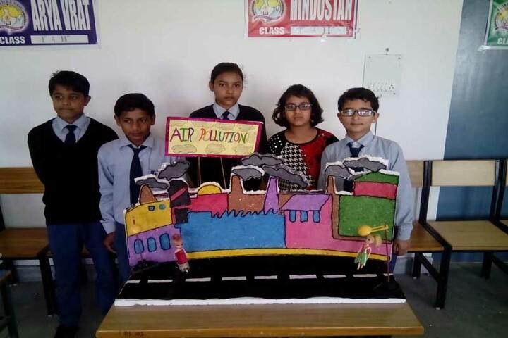 Param Public School - Model making competition