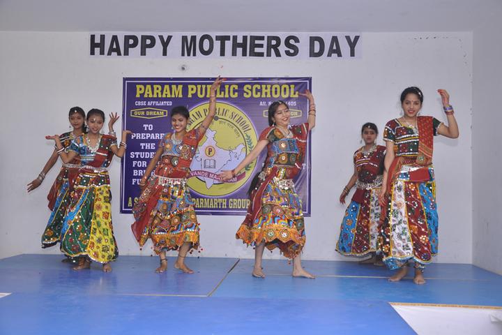 Param Public School - Mothers day celebrations