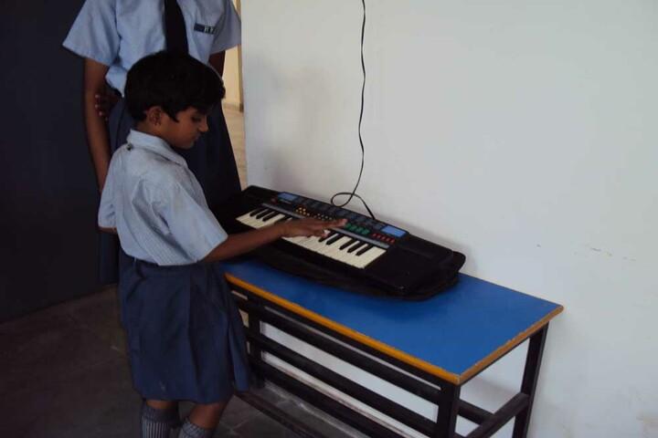 Param Public School - Music class