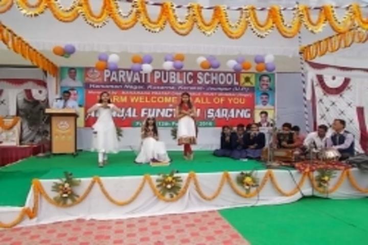 Parvati Public School-Annual Function