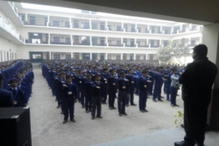 Parvati Public School-Assembly