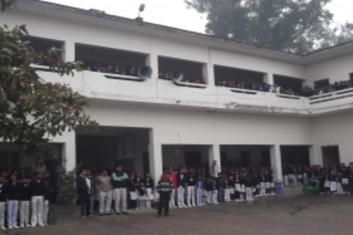 Parvati Public School-School Building