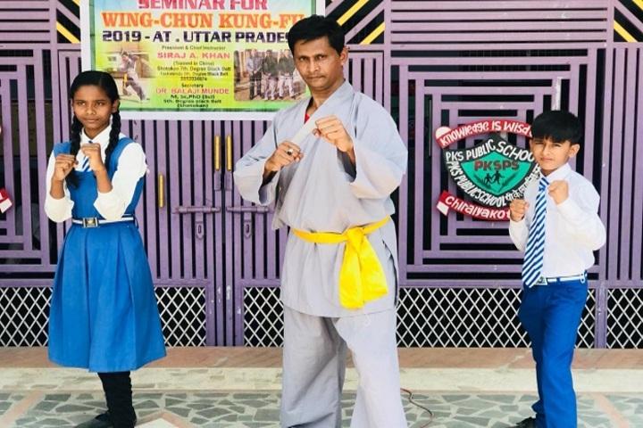 Parvez Khan Sajida Public School - Karate