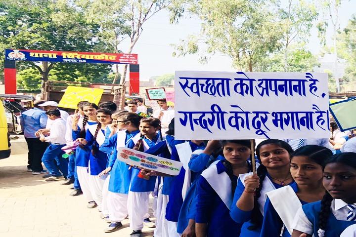Parvez Khan Sajida Public School - Swachh Bharath