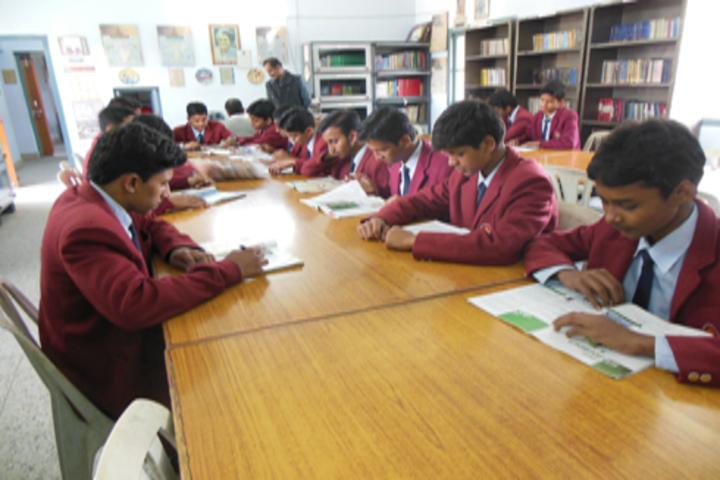 Vidya Vihar Residential School-Library