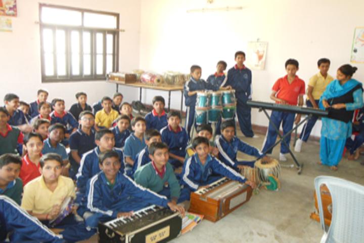 Vidya Vihar Residential School-Music Room