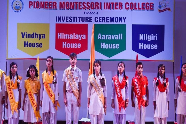 Pioneer Montessori Inter College-Investiture Ceremony