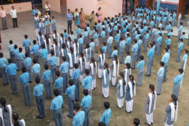 Police Modern School-Morning Assembly