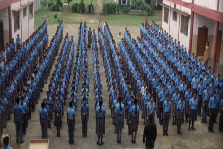 Police Modern School-Assembly