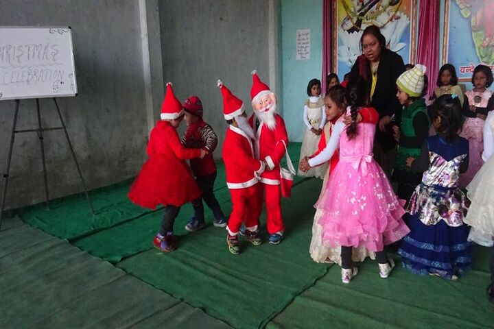 Prabha Sunrise Educational Institute-Christmas Celebrations