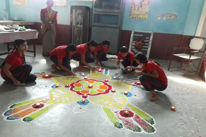 Prabha Sunrise Educational Institute-Diwali Celebrations