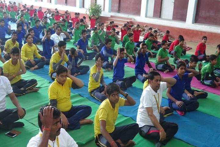 Prabha Sunrise Educational Institute-Yoga Activity
