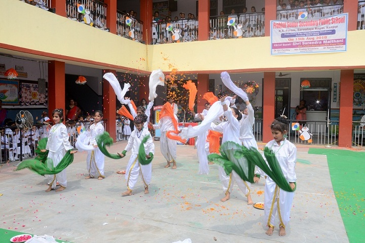 Prabhat Public School-Independence Day