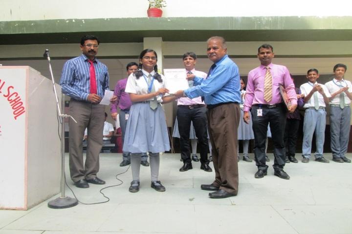 Prasad International School-Cancer Awareness Programme