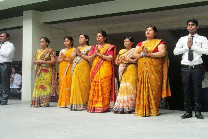 Prasad International School-Teachers Day