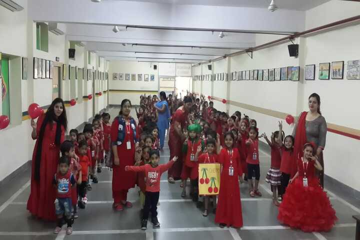 Prelude Public School-Red Day Celebrations
