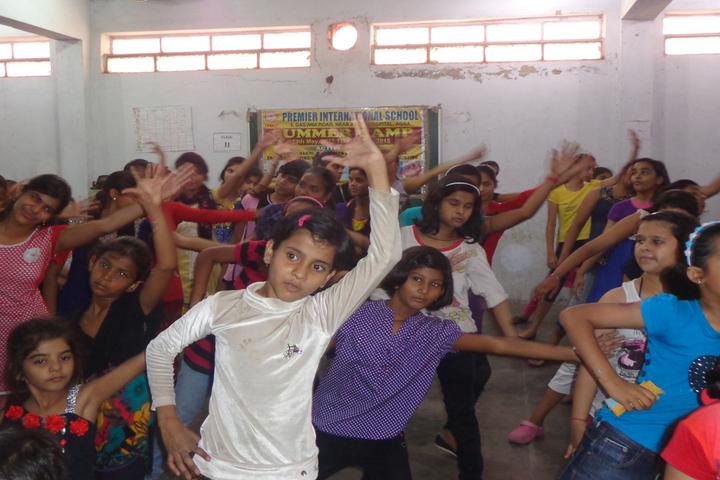 Premier International School-Dancing Activity