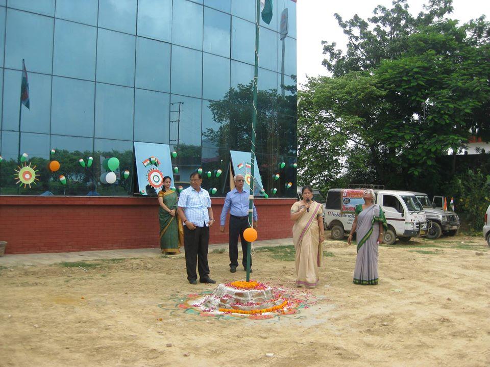 Prisha International School-Flag Hosting
