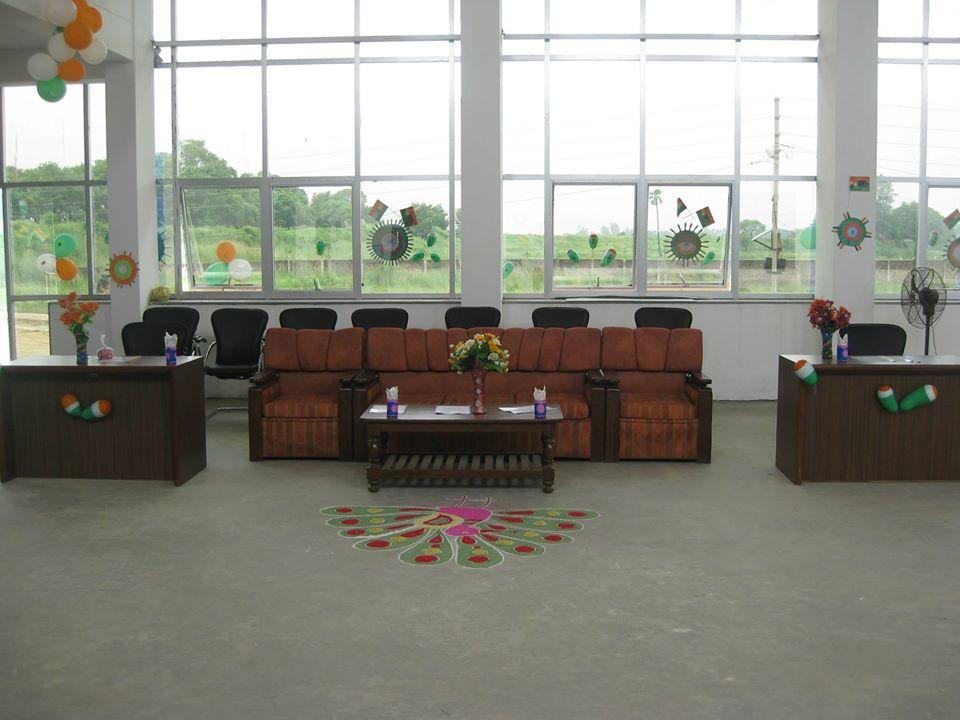 Prisha International School-Reception