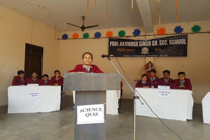 Prof Rajendra Singh Public School-Science Quiz